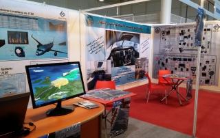 حضور پژهشکده اویونیک در هفتمین نمایشگاه هوایی کیش