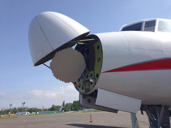 رادار هواشناسی هواپیما