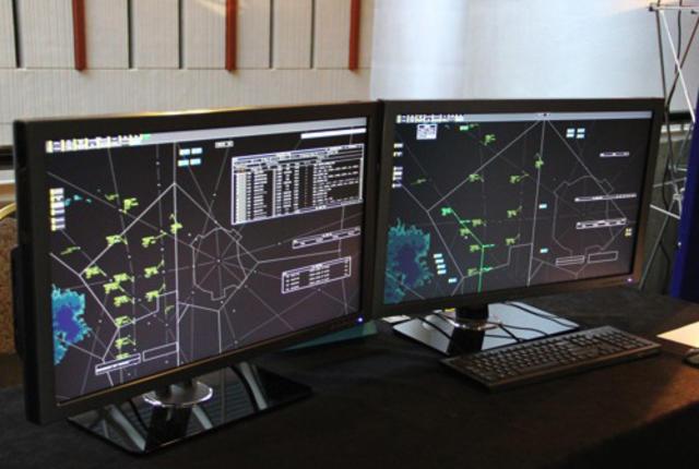 شبیهساز کنترل ترافیک هوایی با ارتباطات دادهای