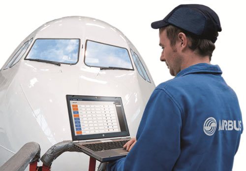 استفاده از فناوری Maintenance mobility ایرباس