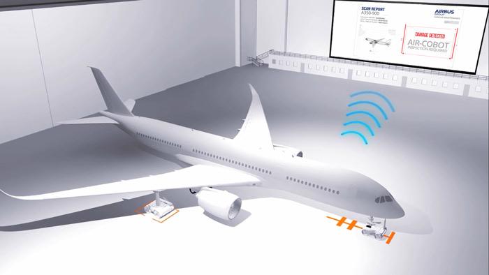 استفاده از رباتها و هواگردهای بدون سرنشین بال متحرک کوچک