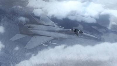 جنگنده با پوشش نامرئی