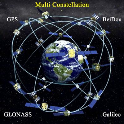 استفاده از چند مجموعه ماهوارهای