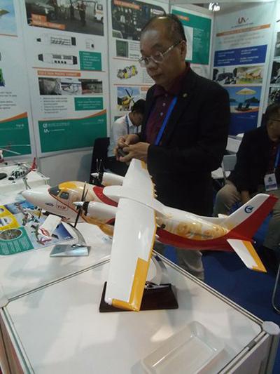 نسخه بروزرسانی شده از هواپیمای Y12-E