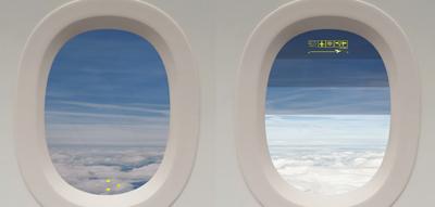 کابینهای مدرن با پنجرههای هوشمند