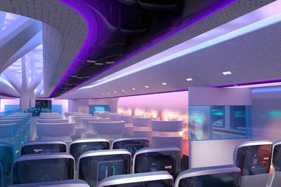، طرحهایی از ساختار کابین مسافران