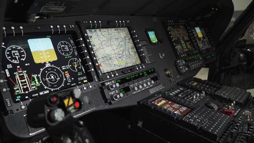 بروزرسانی کابین بالگرد UH-60 شرکت نورثروپ گرومن
