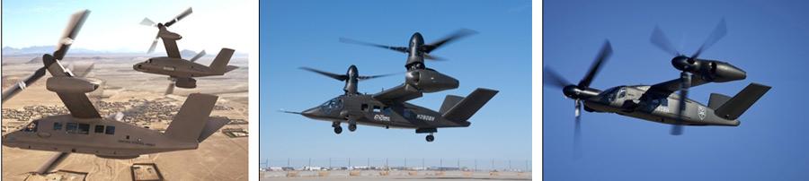 تصاویر بالگرد V-280 شرکت بل، قرارگیری روتور در حالتهای مختلف