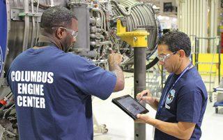 استفاده از تبلت و موبایل برای تعمیرو نگهداری هواپیما